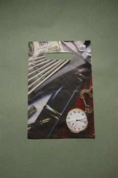 """Пакет """"мужской"""" с вырубной ручкой - фото 4780"""