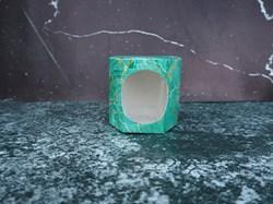 Коробка шестиугольная с окном - фото 5454