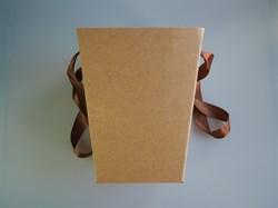 Коробка для цветов конус - фото 5749